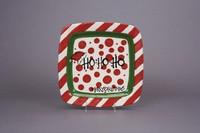 Ho Ho Ho Christmas Plate