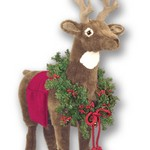 Brown Reindeer Footrest  SOLD OUT