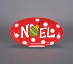 Noel Christmas Plate